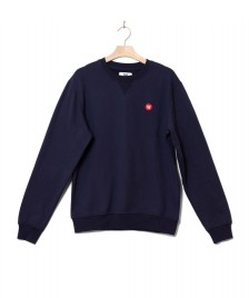 Wood Wood Wood Wood Sweater Tye blue navy
