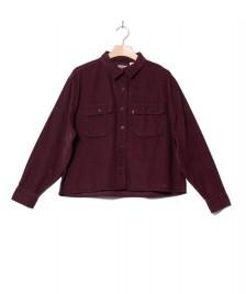Levis Levis W Shirt Olsen Utility red malbec
