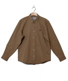 Carhartt WIP Carhartt WIP Shirt Madison beige leather/black