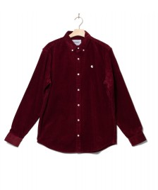 Carhartt WIP Carhartt WIP Shirt Madison red bordeaux wax