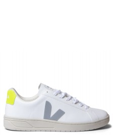 Veja Veja Shoes Urca Vegan (C.W.L) white oxford grey jaune fluo