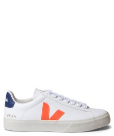 Veja Veja W Shoes Campo Leather white extra orange fluo cobalt