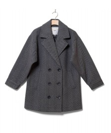 Minimum Minimum W Coat Lynga grey black
