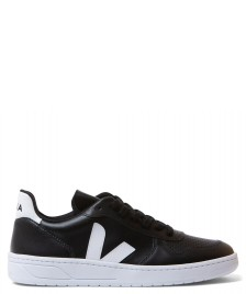 Veja Veja Shoes V-10 Leather black white white sole