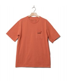 Patagonia Patagonia T-Shirt P-6 Logo Pocket orange melon mellow
