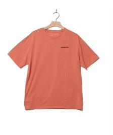Patagonia Patagonia T-Shirt P-6 Logo orange melon mellow