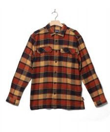 Patagonia Patagonia Shirt Fjord Flannel red burnished