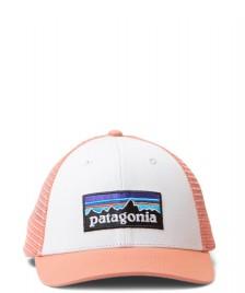 Patagonia Patagonia Cap P-6 Logo orange white melon mellow