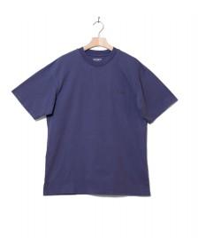 Carhartt WIP Carhartt WIP T-Shirt Ashland Script purple cold viola