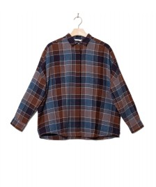 Sessun Sessun W Shirt Deliwool blue berry checks