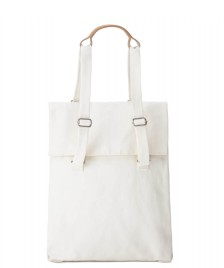 Qwstion Qwstion Bag Flap Tote Medium white natural