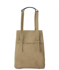 Qwstion Qwstion Bag Flap Tote Small sand