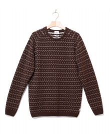 Klitmoller Collective Klitmoller Knit Jesper brown earth/cream