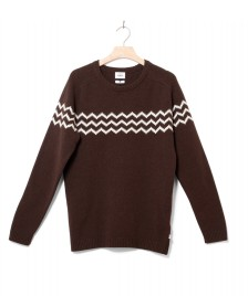 Klitmoller Collective Klitmoller Knit Toke brown earth/cream