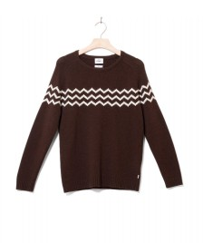 Klitmoller Collective Klitmoller W Knit Cecilie brown earth/cream