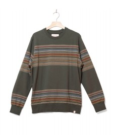 Revolution (RVLT) Revolution Sweater 2653 Striped green army