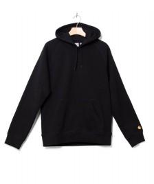 Carhartt WIP Carhartt WIP Hooded Sweater Chase black/gold