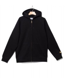 Carhartt WIP Carhartt WIP Zip Hooded Chase black/gold