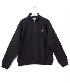 Carhartt WIP Carhartt WIP Half Zip Sweater American Script black