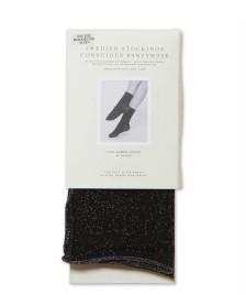 Swedish Stockings Swedish Stockings Socks Lisa black/silver lurex