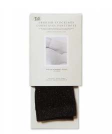 Swedish Stockings Swedish Stockings Socks Stella black shimmery