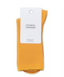 Colorful Standard Colorful Standard Socks yellow burned