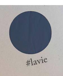 Lavie Lavie Baumwoll Spannbettlaken Lakan blau indigo