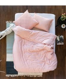 Lavie Lavie Leinen Bettwäsche Linus pink blush