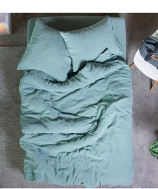 Lavie Lavie Leinen Bettwäsche Linus fichtengrün