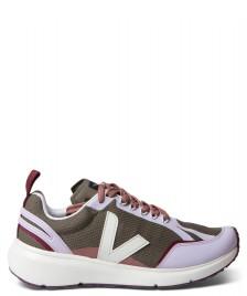Veja Veja W Shoes Condor 2 Alveomesh green kaki pierre parme