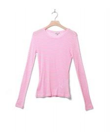 MbyM MbyM W Longsleeve Lillita pink begonia sugar stripe