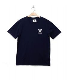 Wood Wood Wood Wood T-Shirt AA Ace blue navy