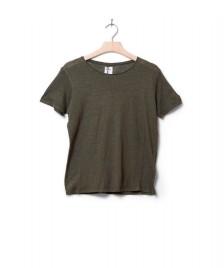 Klitmoller Collective Klitmoller W T-Shirt Rikke linen green olive