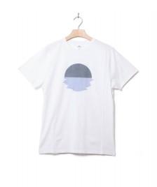 Klitmoller Collective Klitmoller T-Shirt Pelle white/navy/ocean
