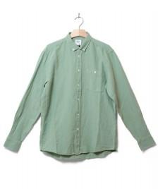 Klitmoller Collective Klitmoller Shirt Benjamin Linen green pale