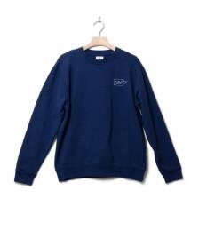 Klitmoller Collective Klitmoller Sweater Sofus crew blue ocean