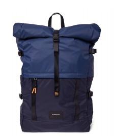 Sandqvist Sandqvist Backpack Bernt LW blue navy multi/evening blue
