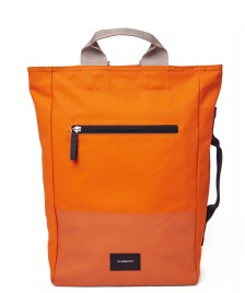 Sandqvist Sandqvist Backpack Tony Vegan orange burnt with coating