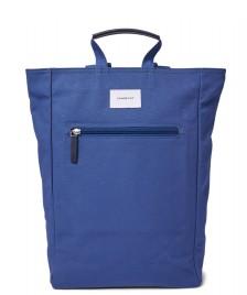 Sandqvist Sandqvist Backpack Tony blue with blue leather