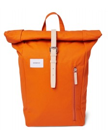 Sandqvist Sandqvist Backpack Dante orange burnt with natural leather