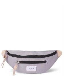 Sandqvist Sandqvist Bag Aste grey with natural leather
