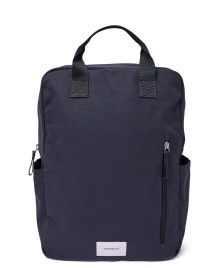 Sandqvist Sandqvist Backpack Knut blue navy with navy webbing