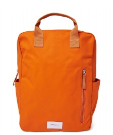 Sandqvist Sandqvist Backpack Knut orange burnt with orange webbing
