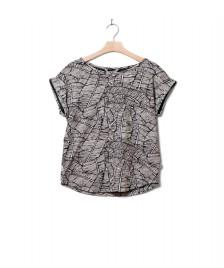 Wemoto Wemoto W T-Shirt Holly Printed black/white