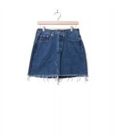 Levis Levis W Skirt Hr Decon Icnic Bfly blue meet in the middle