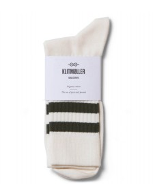 Klitmoller Collective Klitmoller Socks Retro beige cream/olive