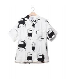 Portuguese Flannel Portuguese Flannel Shirt Horse white/black