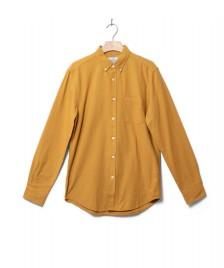 Portuguese Flannel Portuguese Flannel Shirt Belavista yellow mustard