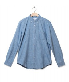 Portuguese Flannel Portuguese Flannel Shirt Chambray blue