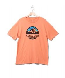 Patagonia Patagonia T-Shirt Fitz Roy Scope orange mellow melon